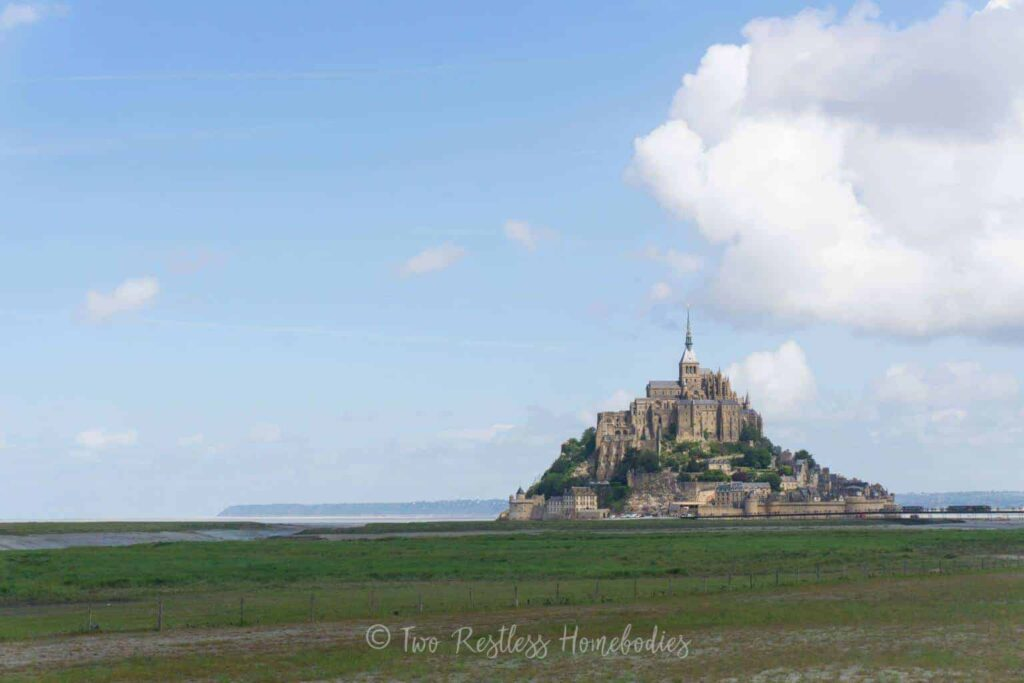 Mont Saint Michel - one of the best castles in France
