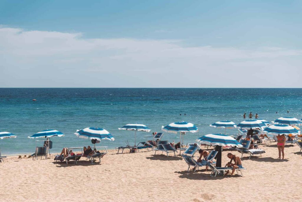 best beaches in salento puglia