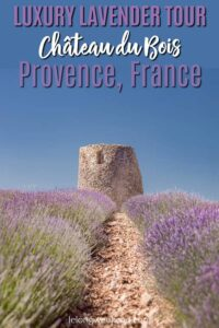 If you want to experience a lavender tour of Provence like no other, then this luxury lavender tour to Chateau du Bois is for you! Read what makes this exclusive day tour in Provence, France so magical.