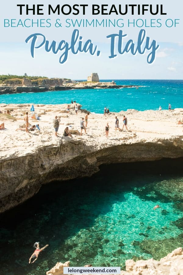 Puglia's beaches are among the best in Italy. Find out where to find the best beaches in Puglia, Italy, here!