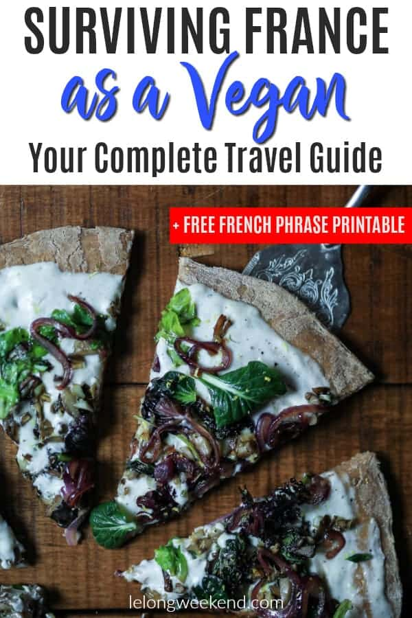 If you're a vegan travelling to France, you may be worried about how you'll get by in a country renowned for meat & cheese! Being vegan in France doesn't have to be difficult - if you know what to look for! Read our complete vegan travel guide to France and download your free French vegan phrase printable!