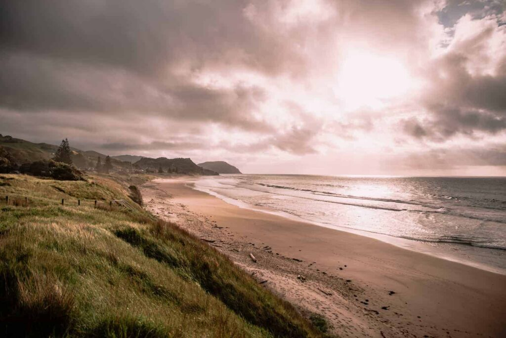 Wainui Beach in Gisborne is one of the best beaches in North Island New Zealand