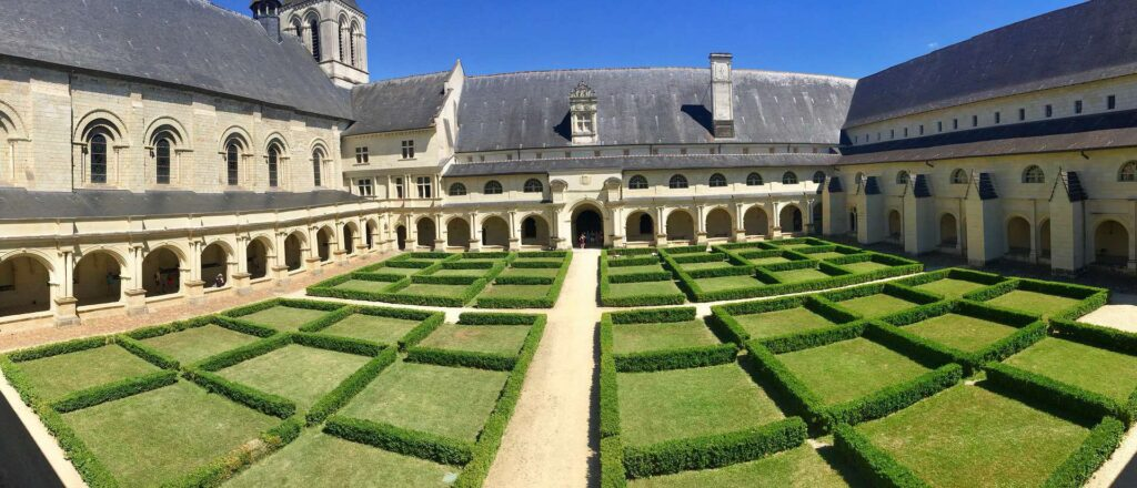 Abbey of Fontevraud - Stunning attraction in the Pays de la Loire region of France.