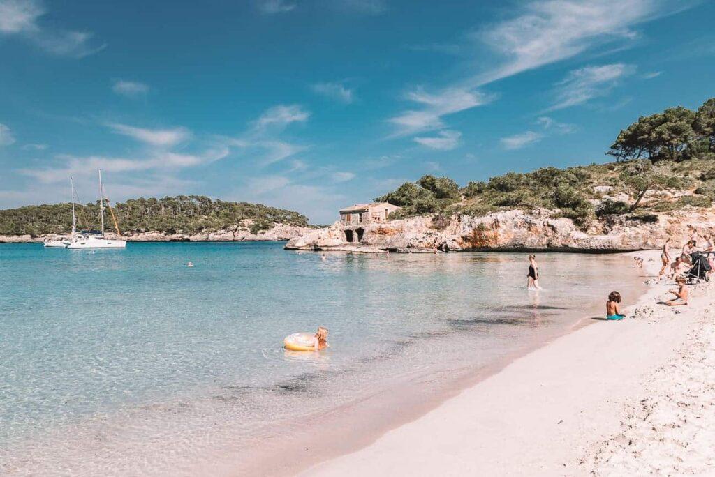 Cala Mondragó is one of Mallorca's best beaches.