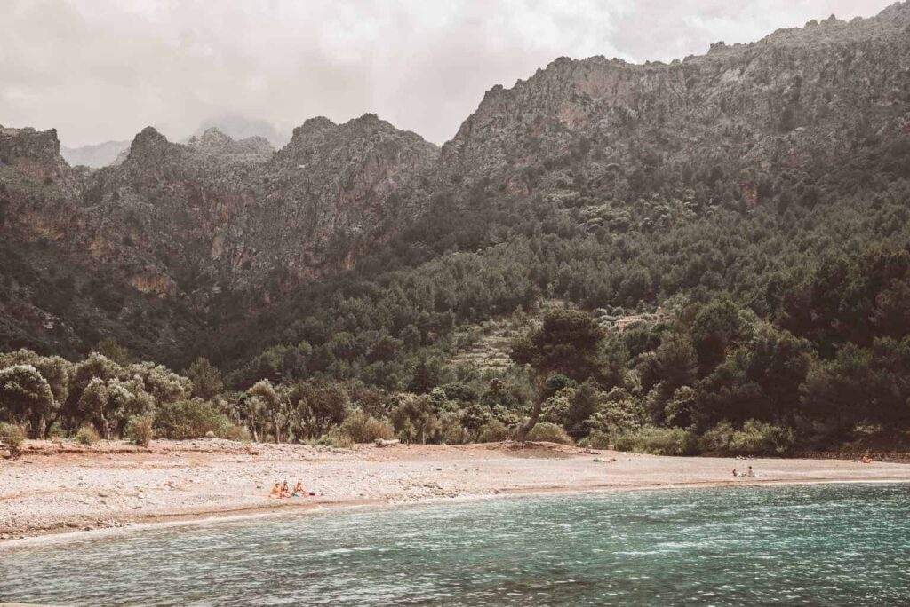 Cala Tuent, one of Mallorca's best beaches