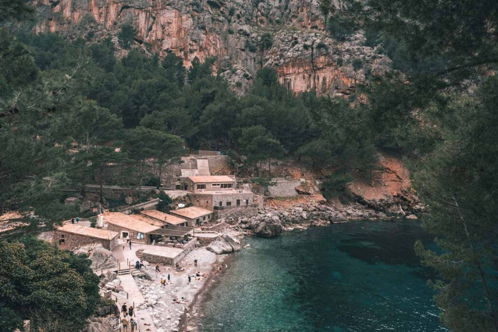The best beaches in Mallorca Spain.