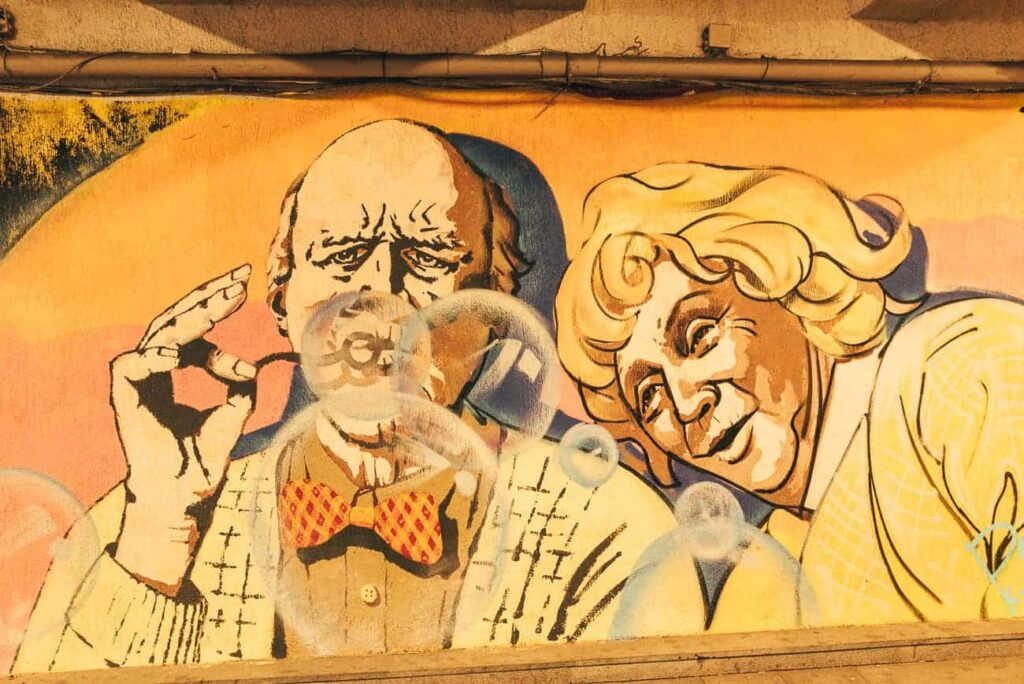 Tbilisi Street Art. Things to do in Tbilisi in winter.