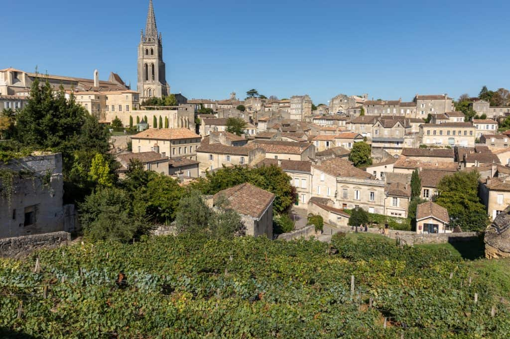 St Emilion, near Bordeaux, is one of the best places to visit in France.