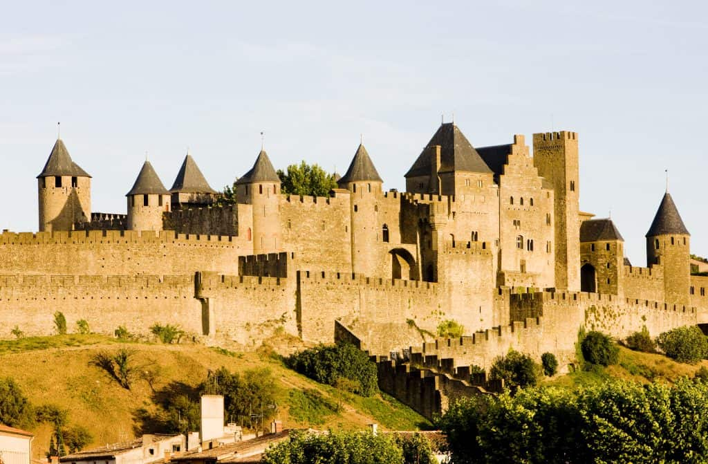 The medieval village of Carcassonne in the Languedoc-Roussillon, is one of the top 10 places to visit in France.