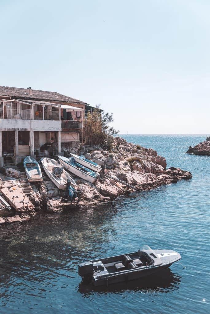 Calanque de Callelongue near Les Goudes, Marseille