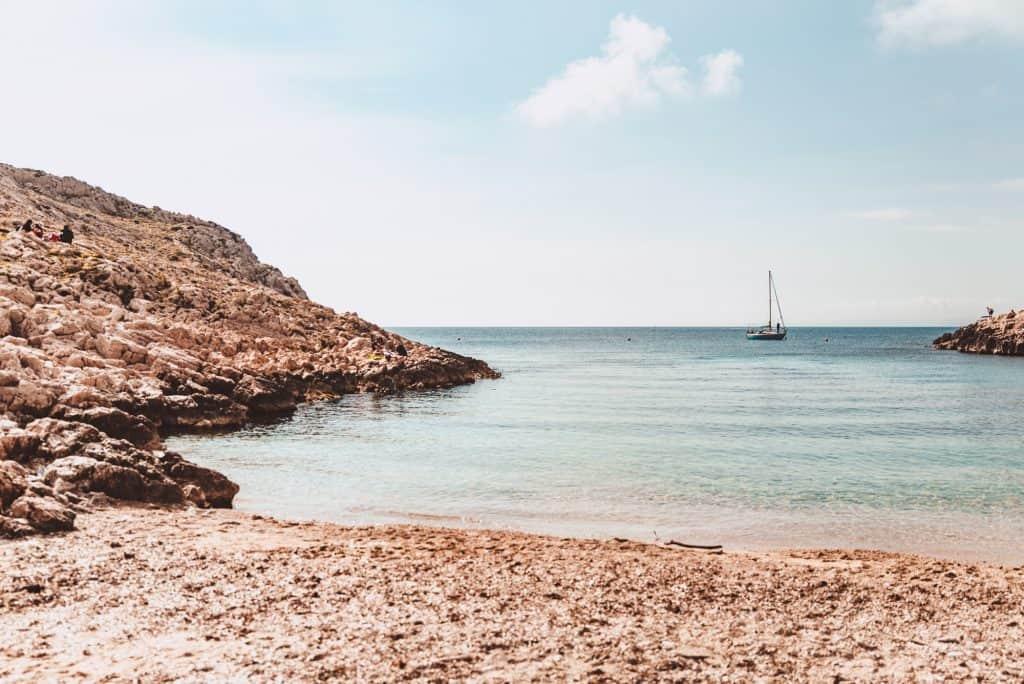 Anse de la Maronaise near Les Goudes, Marseille
