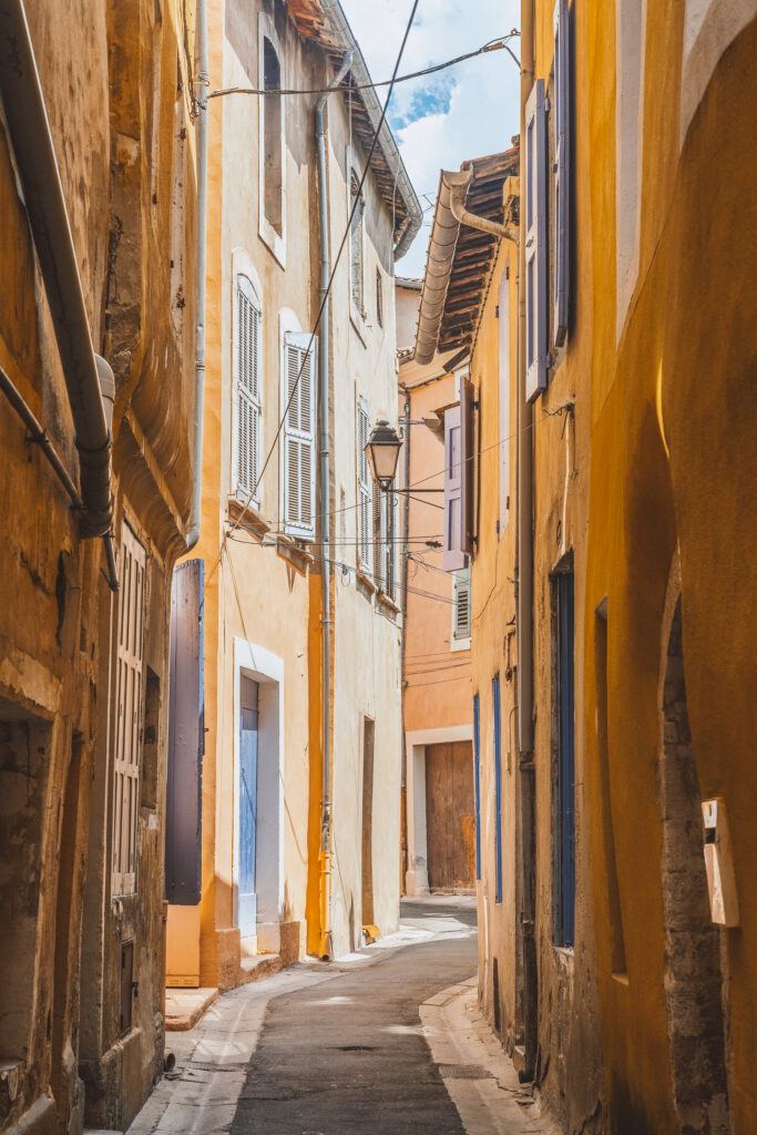 Apt is a stunning small town in Provence, France