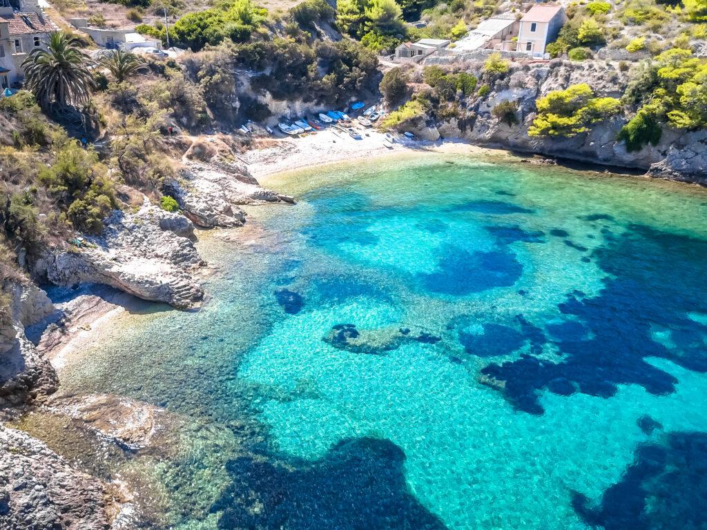 Brac Island in Croatia is a fabulous place to visit in Europe in July