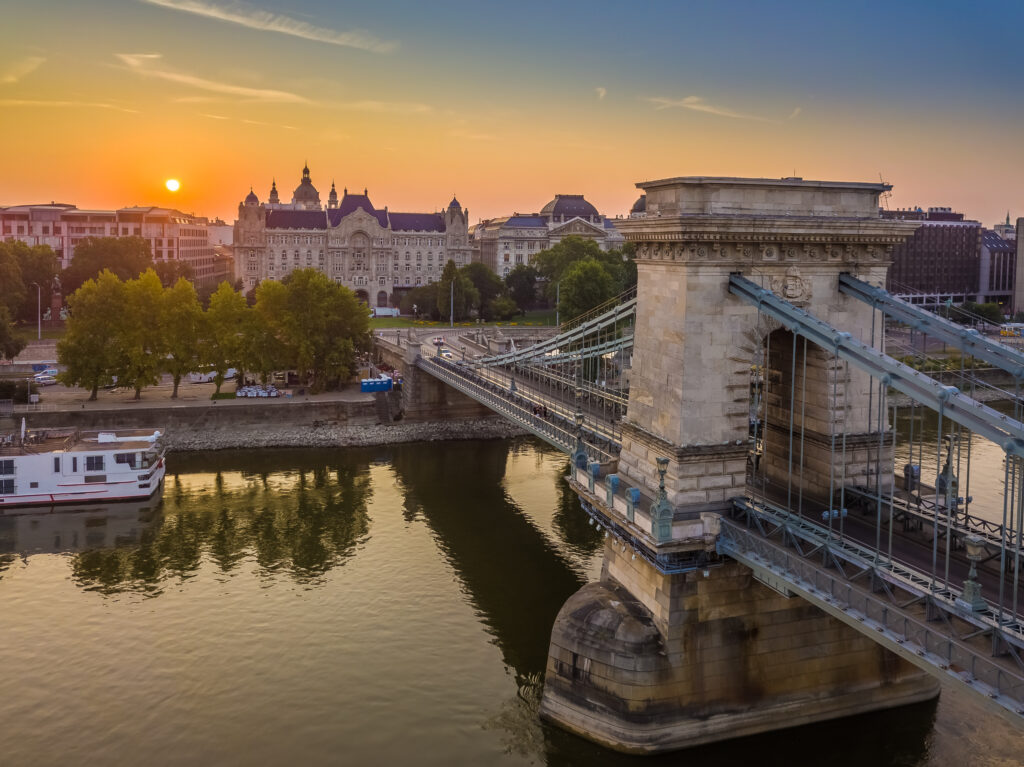 Budapest, Hungary is one of the best places to visit in Europe in August