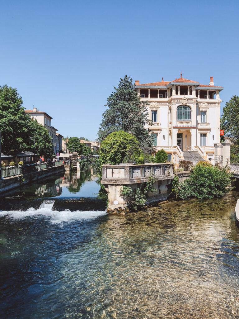 L'isle sur la Sorgue is a charming town in Provence, France