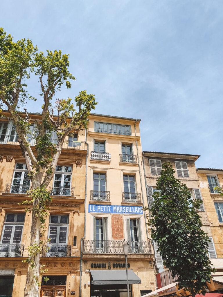 Aix-en-Provence - a beautiful city in Provence