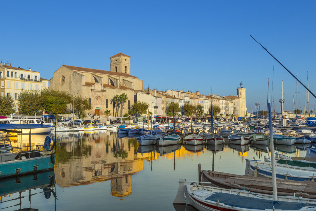 La Ciotat is one of the most beautiful towns in Provence
