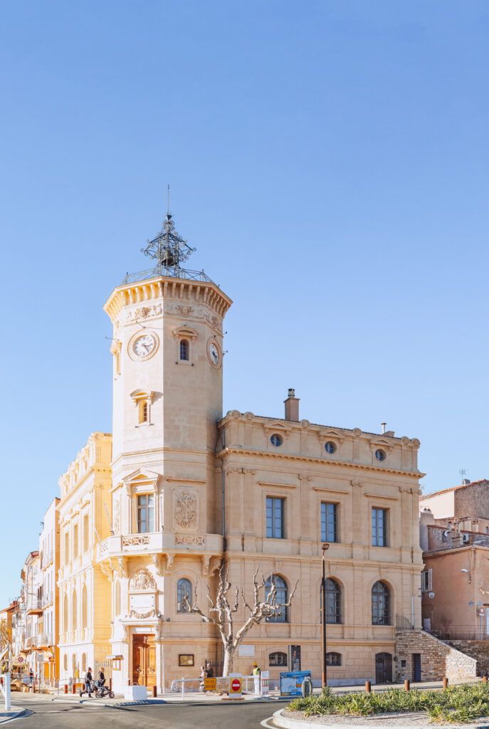 The old town of La Ciotat in Provence, France
