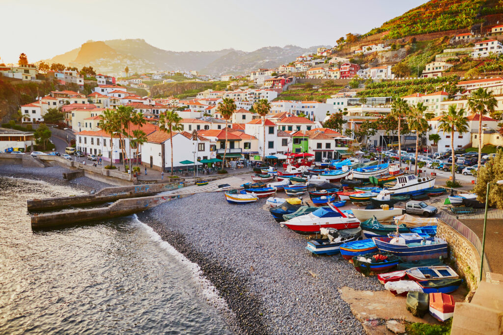 Madeira, Portugal is a great European Island to visit in August