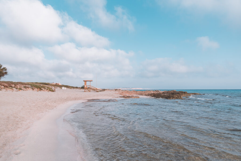 Ses Platjetes beach on the island of Formentera, Spain