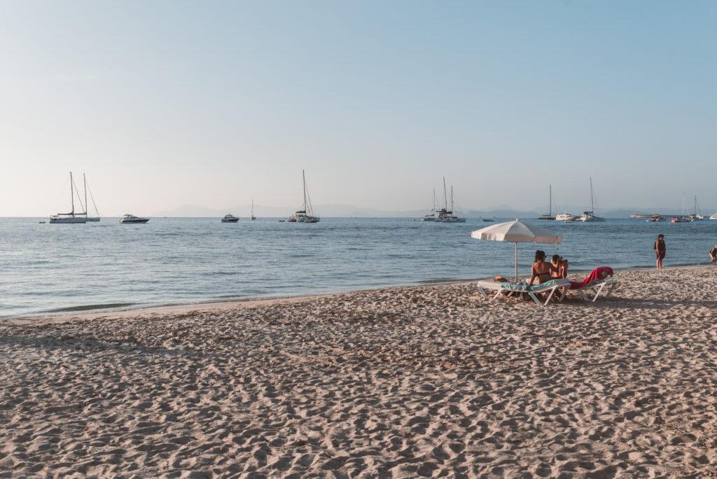 Es Cavall d'En Borras Beach in Formentera, Spain