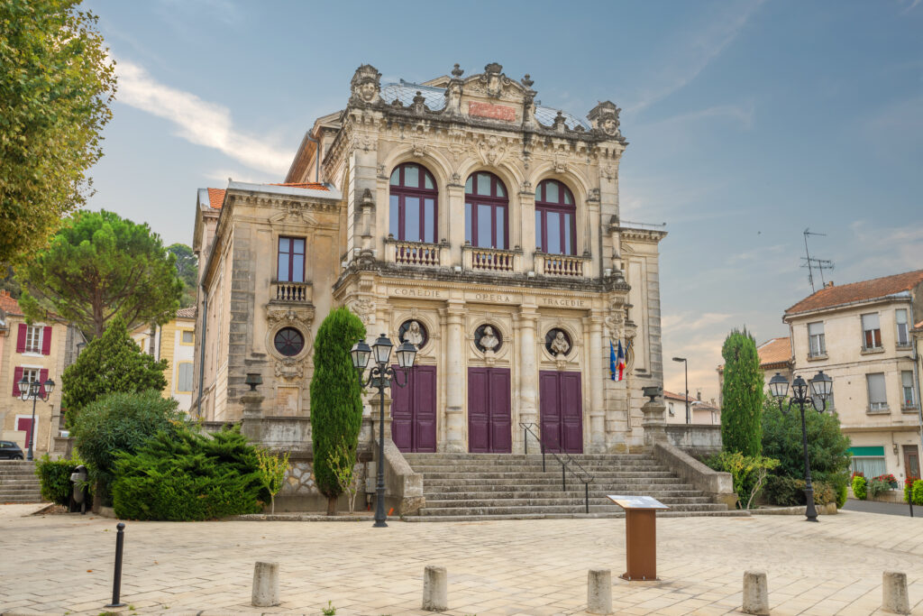 Municipal Theatre at Orange in Provence, France