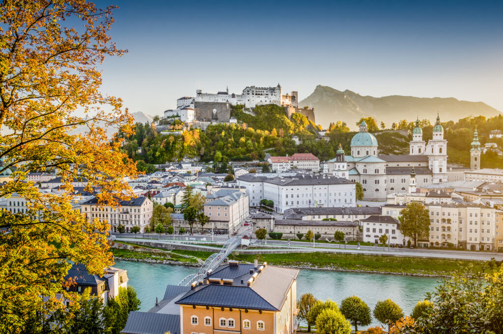 Salzburg is a lovely European city to visit in July