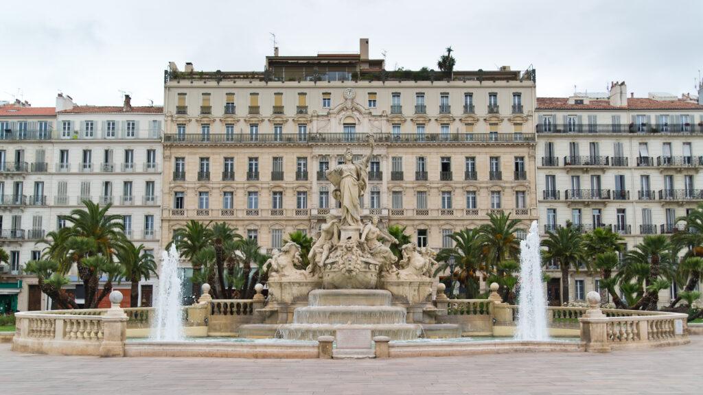Toulon centre, Provence, France