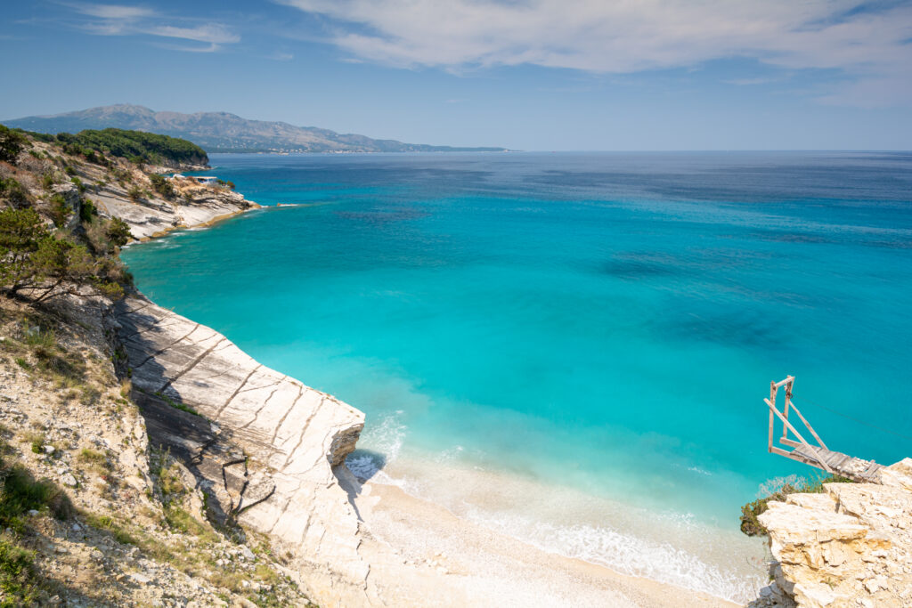 The Albanian Riviera is a great European destination to visit in September
