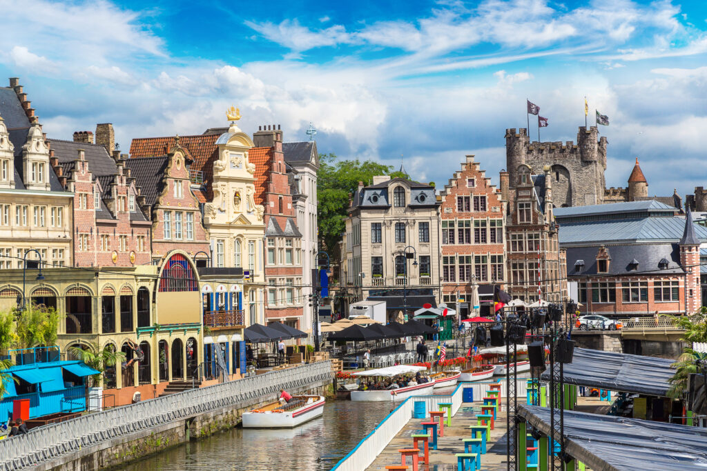 Ghent is one of the best european cities to visit in September