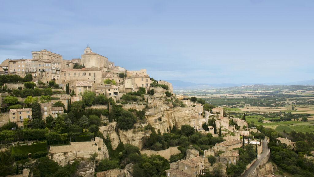 Village of Gordes in Provence, France