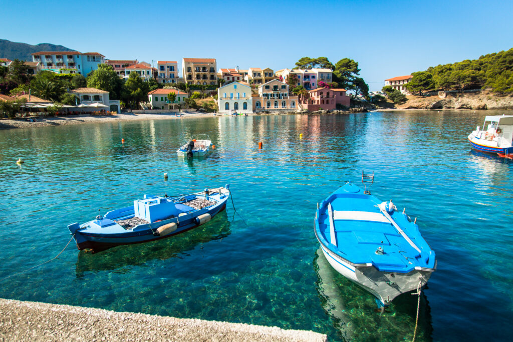 Kefalonia is a beautiful place to visit in Europe in September