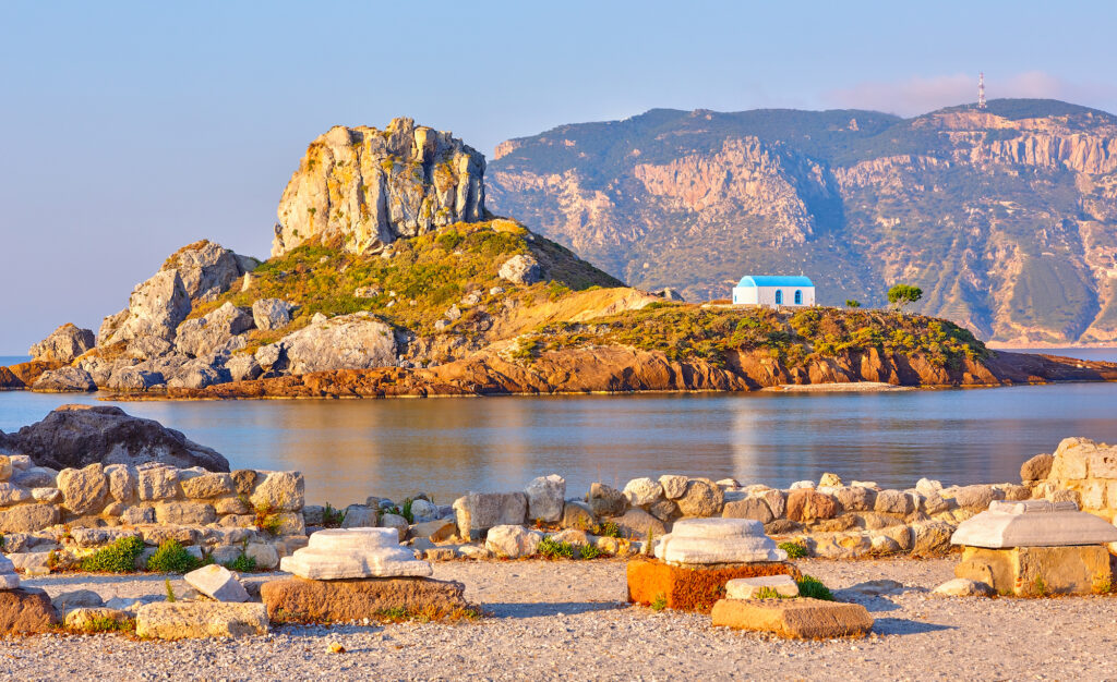 Kos is one of the best places to visit in Greece in October
