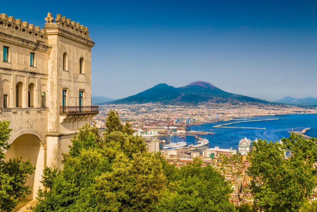 Naples in Italy is one of the best places to go in Europe in September