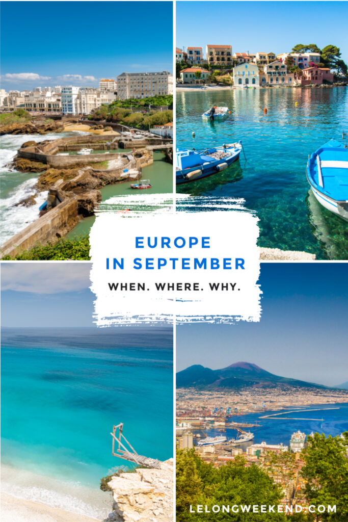 Looking for the best places to visit in September in Europe? We've got them all here - from idyllic island hideaways, to bustling European cities. #europe #summer #islands