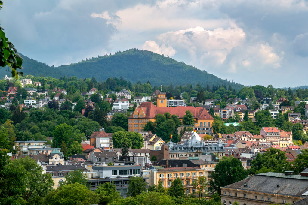 The spa town of Baden-Baden in Germany is one of the best places to visit in November in Europe