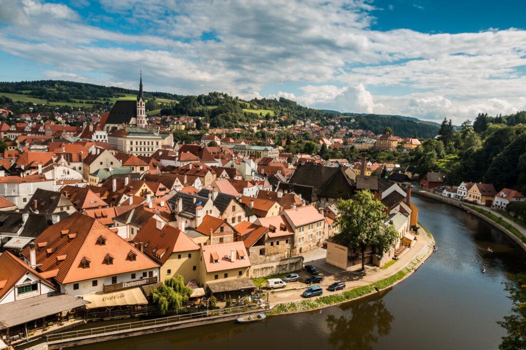 Cesky Krumlov is one of the best European cities to visit in November
