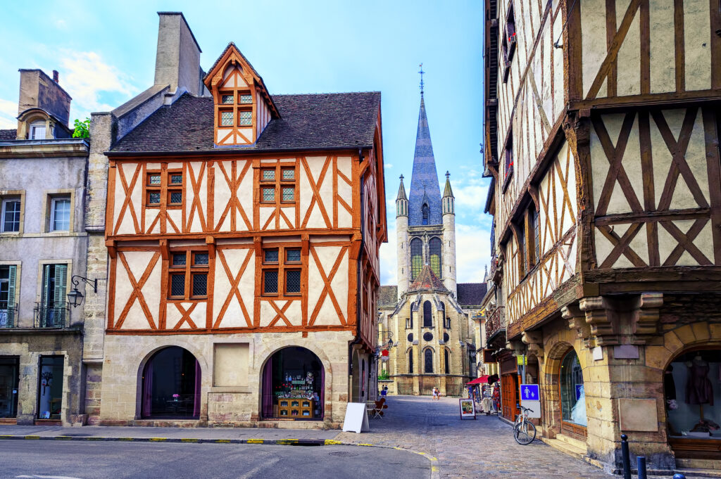 Dijon, France is a lovely place to travel to in November in Europe