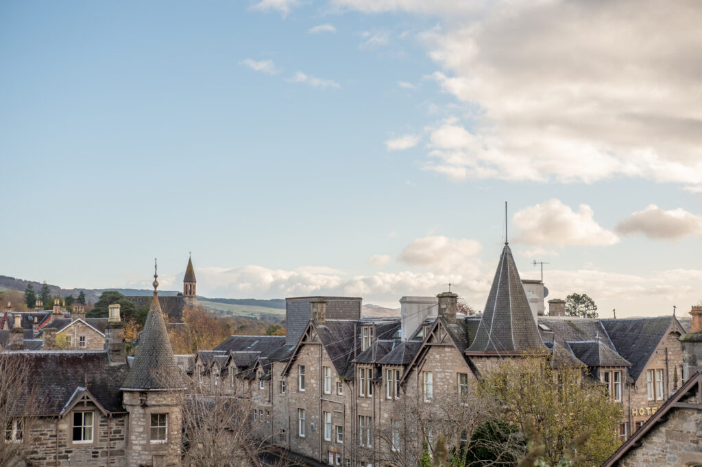 Perthshire in Scotland is a beautiful place to visit in Europe in November