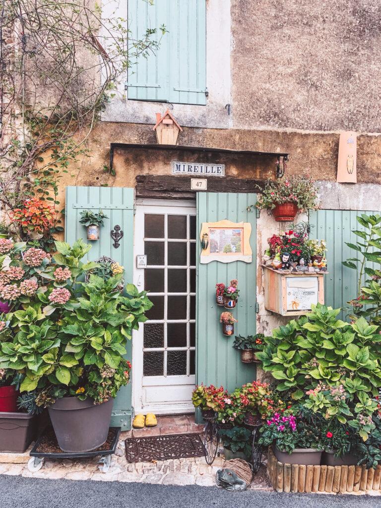 The village of Saignon in Provence, France