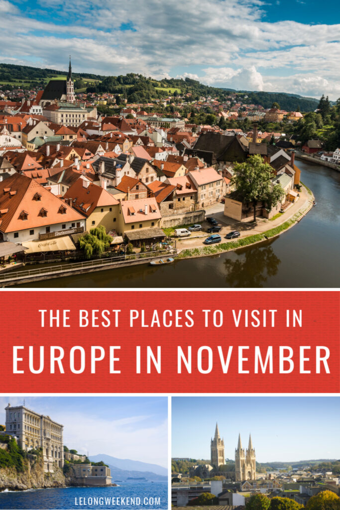 Looking for the best places to visit in November in Europe? We've rounded up the very best destinations to visit in late Autumn around the continent. #europe #autumn #fall #travel