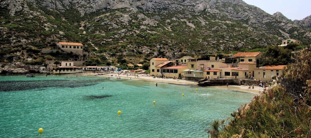 Best beaches near Marseille, France
