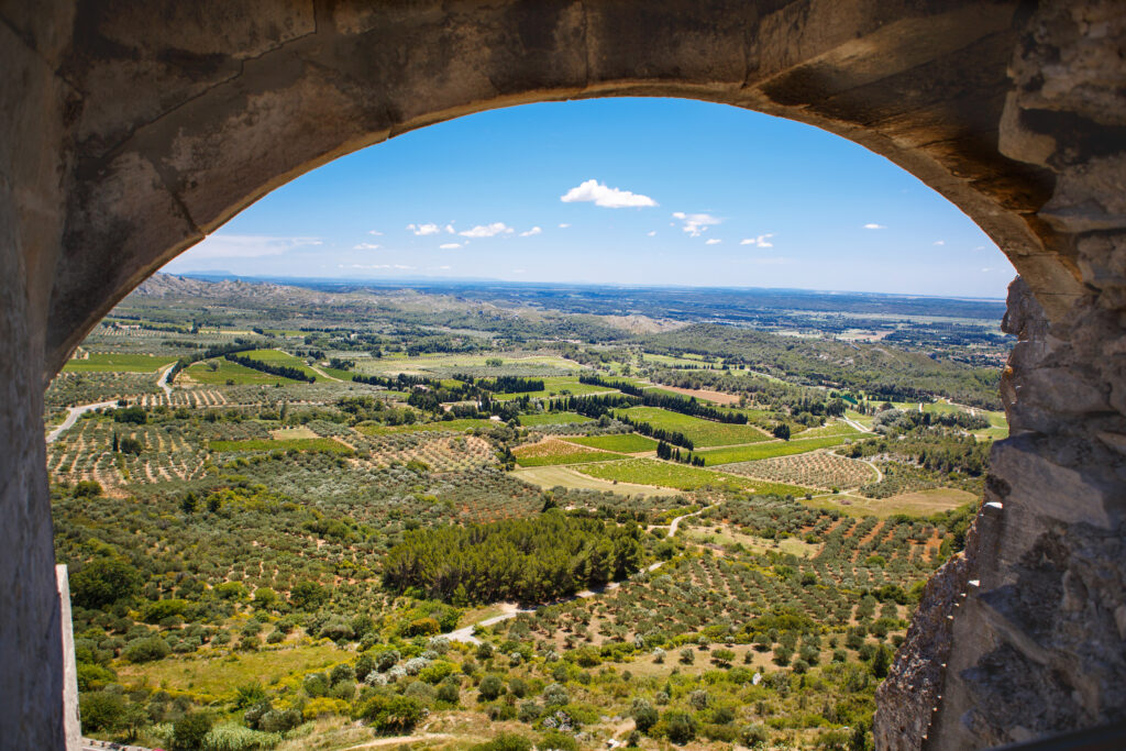 Les Baux de Provence Wine Region in Provence, France