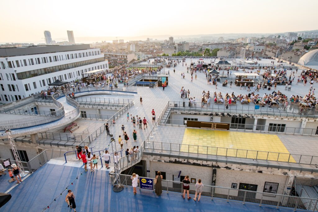 La Friche is one of the best places to visit in Marseille, France