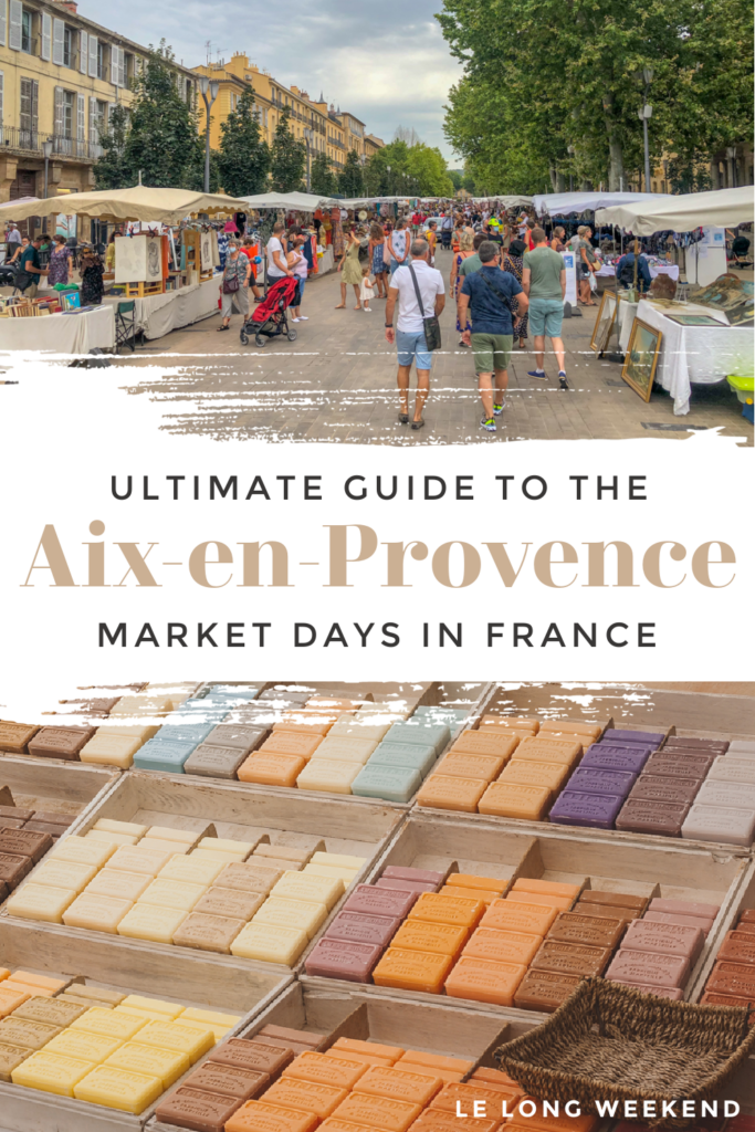Find everything you need to know about the markets in Aix-en-Provence, France right here! We've got the insider info to make the most of these Provence markets.
